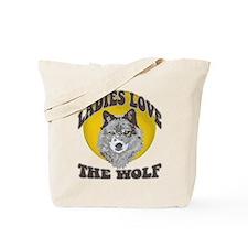 Ladies Love the Wolf Tote Bag