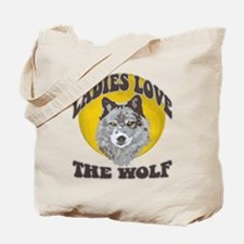 Ladies Love the Wolf Tote Bag