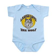 Ladies Love the Wolf Infant Bodysuit