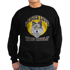 Ladies Love the Wolf Sweatshirt