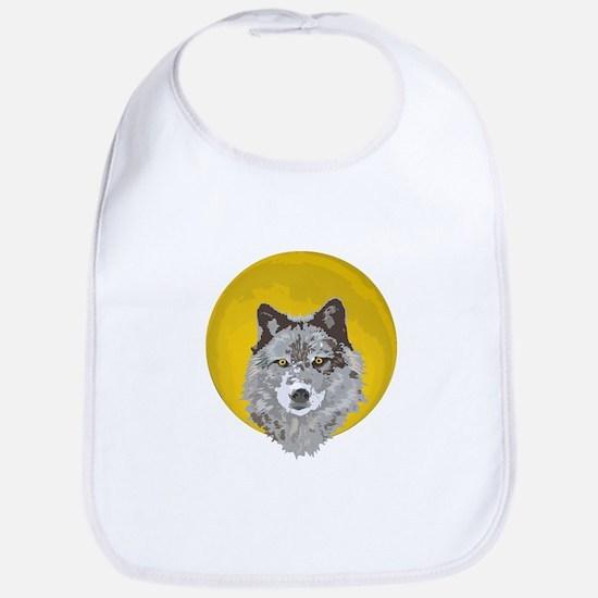 Wolf Moon Bib