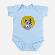 Wolf Moon Infant Bodysuit