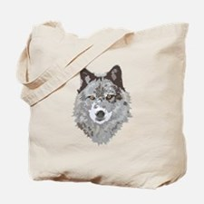Wolf Head Tote Bag