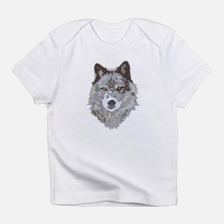 Wolf Head Infant T-Shirt