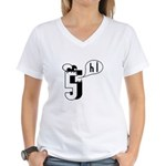 Hi 5 Women's V-Neck T-Shirt