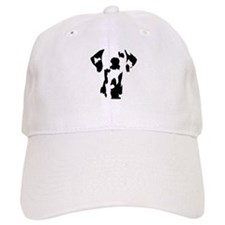 Cute Dog silhouette Baseball Cap