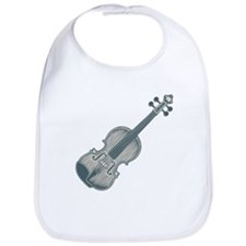 Blue Violin Bib