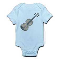 Blue Violin Infant Bodysuit