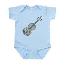 Blue Violin Onesie