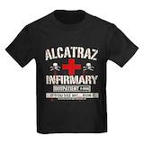 Alcatraz Kids T-shirts (Dark)