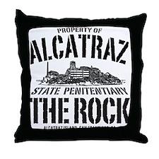 PROPERTY OF ALCATRAZ Throw Pillow