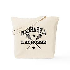 Nebraska Lacrosse Tote Bag