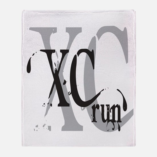 Cross Country XC Throw Blanket