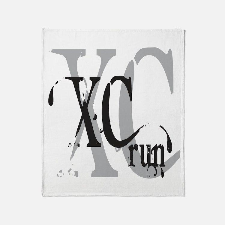 Cross Country XC Throw Blanket