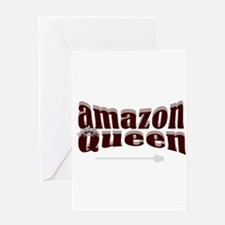 Amazon Queen Greeting Card