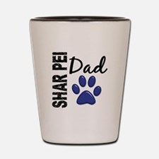 Shar Pei Dad 2 Shot Glass