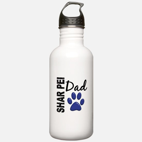Shar Pei Dad 2 Water Bottle