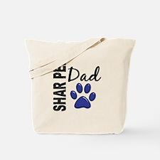 Shar Pei Dad 2 Tote Bag