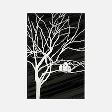 Winter Tree Rectangle Magnet