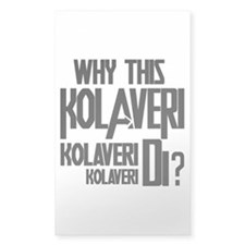 Why This Kolaveri Di? Decal
