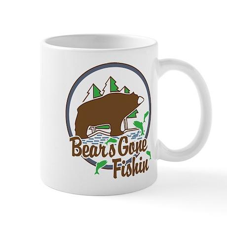Bear's Gone Fishin' Mug