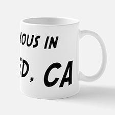 Famous in Merced Mug