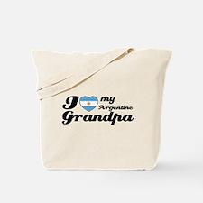 I love my Argentine Grandpa Tote Bag