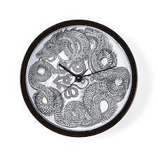 Jormungandr Midgard Serpent Wall Clock