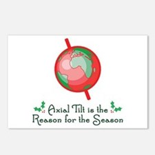 Axial Tilt is the Reason Postcards (Package of 8)