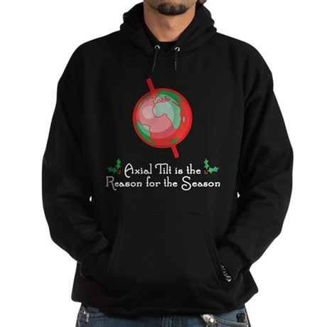 Axial Tilt is the Reason Hoodie (dark)