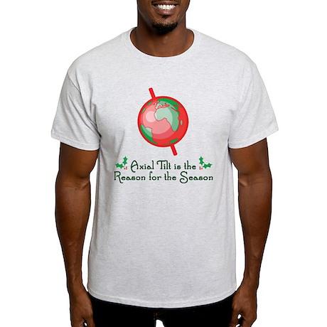 Axial Tilt is the Reason Light T-Shirt