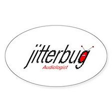 jitterbug Oval Decal