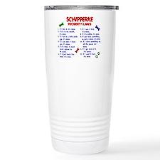 Schipperke Property Laws 2 Travel Mug