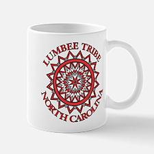 Red Lumbee Patchwork Mug