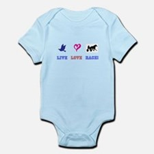 Live Love Race Infant Bodysuit