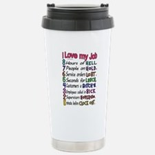 I love my Job Travel Mug