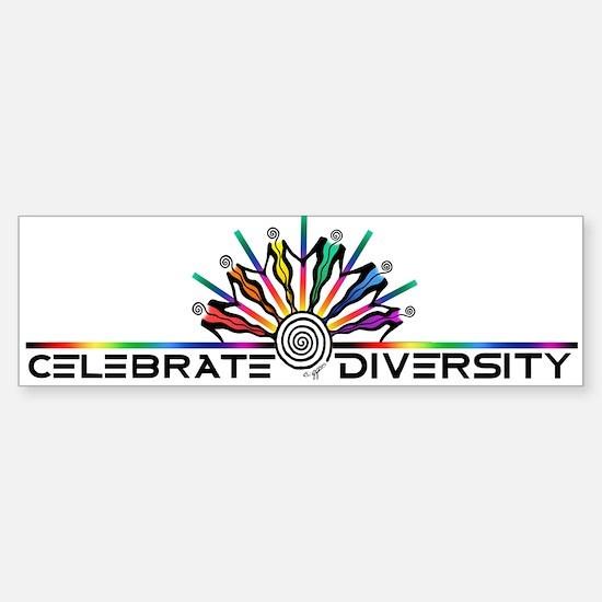 Celebrate Diversity Sticker (Bumper)