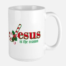 Candy Cane Jesus Mug