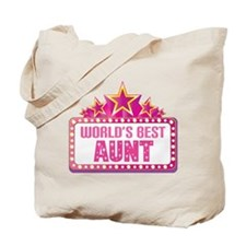 Aunt Gift (Worlds Best) Tote Bag