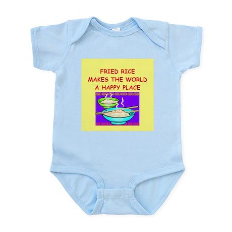 fried rice Infant Bodysuit