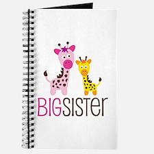 Giraffe Big Sister Journal