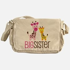 Giraffe Big Sister Messenger Bag