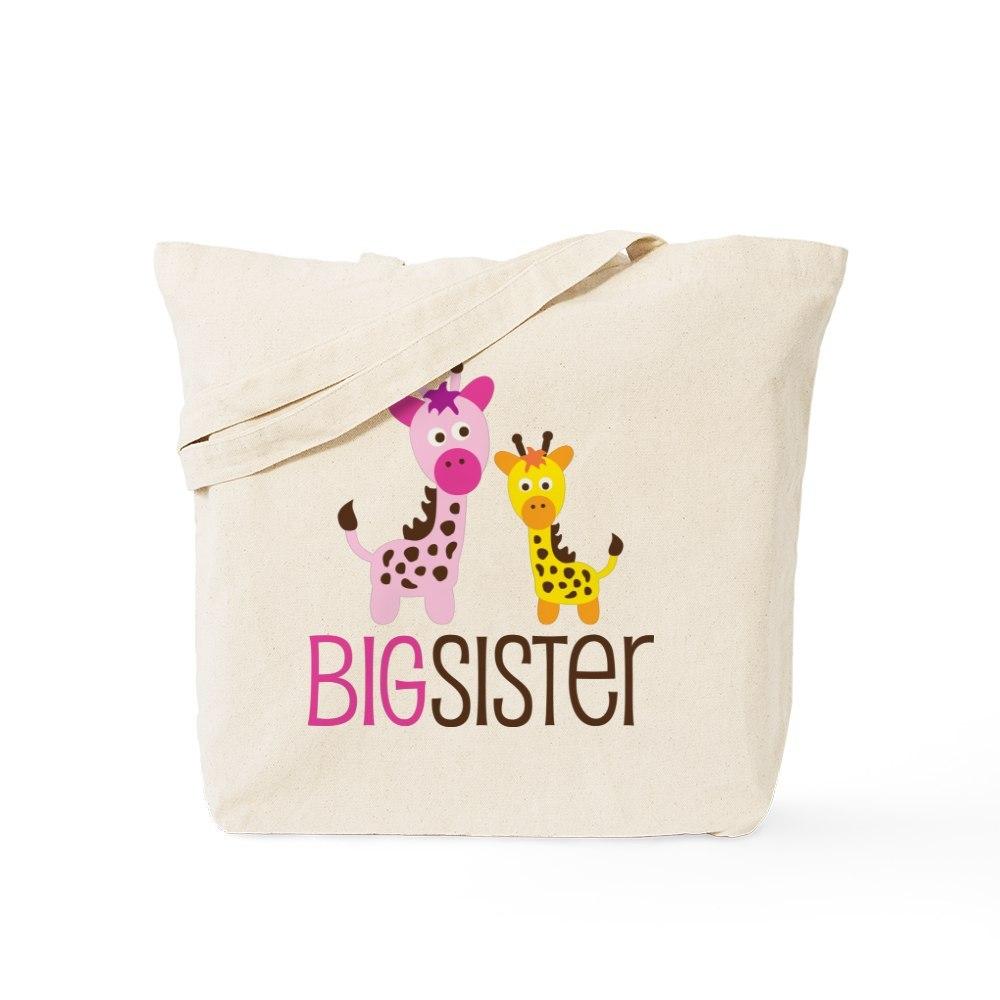 CafePress Giraffe Big Sister Tote Bag