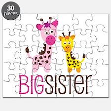 Giraffe Big Sister Puzzle