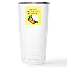 pineapples Travel Coffee Mug
