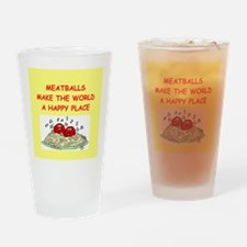 meatballs Drinking Glass