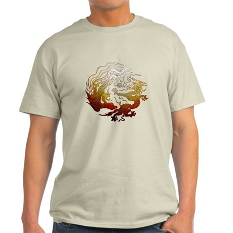 Chinese Dragon & Pheasant Light T-Shirt