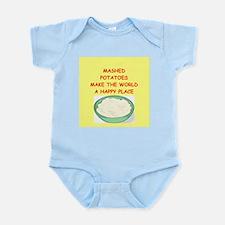 mashed potatoes Infant Bodysuit