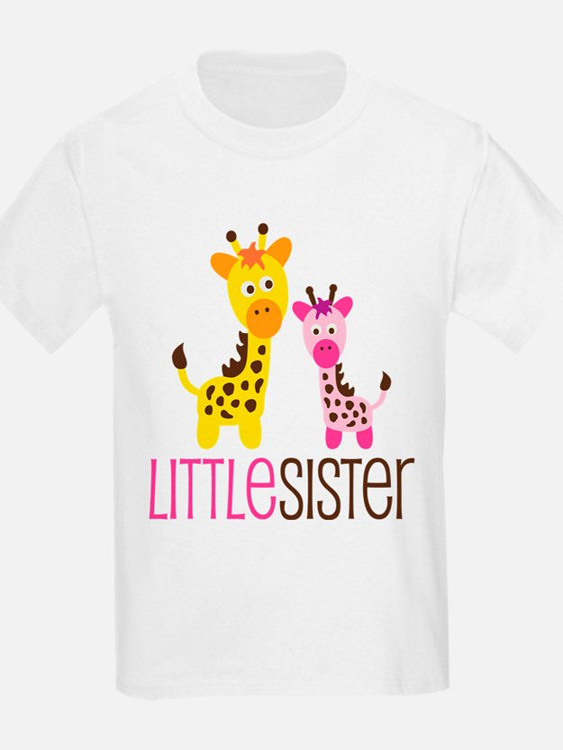 Giraffe Little Sister T-Shirt