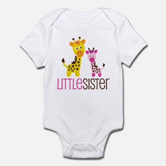 Giraffe Little Sister Infant Bodysuit